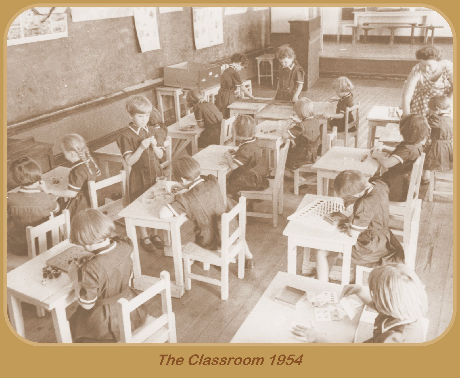 Classrooms 1954