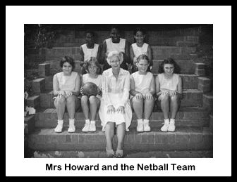 Mrs Howard & The Netball Team